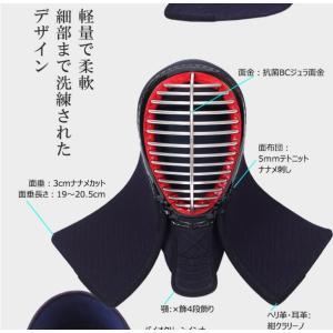 剣道面 A-1αBIOCLEAN(バイオクリーン) 5mm テトニット 面単品 (224-068A/037-SAFETYH[L])|kyotobudougu|10