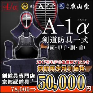 セール中 剣道防具セット A-1α 6mmナナメ刺防具セット|kyotobudougu