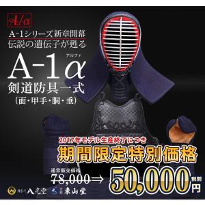セール中 剣道防具セット A-1α 6mmナナメ刺防具セット|kyotobudougu|02