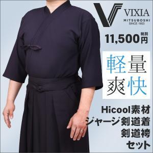 軽量で爽快なジャージ剣道着袴セットVIXIA(ヴィクシア)  VIXIA(ヴィクシア)は他のジャージ...
