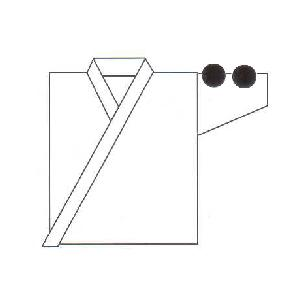 左肩刺繍 7cm×7cm 剣道着 ネーム  kyotobudougu