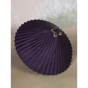 本物和傘 蛇の目傘(絹) 絹張りモデル 紫/送迎や披露宴、写真館の演出にも|kyotokikyokan|03