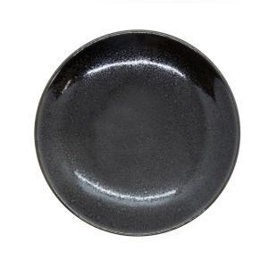 母の日 入学祝い 陶器 皿 おしゃれ うどん 清水焼 京焼 黒|kyotomarche