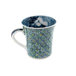ホワイトデー 卒業祝い マグカップ 六斎窯 おしゃれ 器 和食器 陶器 手作り 清水焼 京焼|kyotomarche