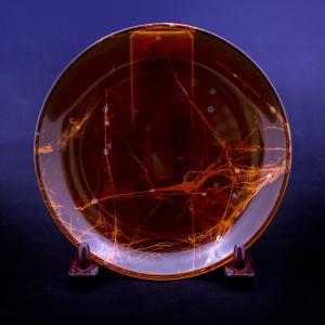 太田漆工房 太田勲 漆器 漆 皿 京都 滋賀 飾り皿 インテリア 旅館 ガラス