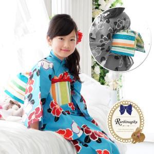作り帯 文庫 (ストライプ)  子供 浴衣用 日本製 文庫 七五三 帯 マジックテープで簡単装着できます♪ ここでしか買えない当店オリジナルの形です!!|kyotorurihinagiku