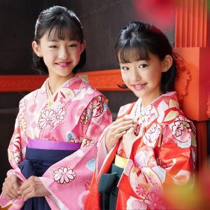 袴 小学生 卒業式 袴セット 小学校 女の子 セット はかま ジュニア 小学生の卒業式 きもの 着物 女 4点セット 140 150 160 購入|kyotorurihinagiku