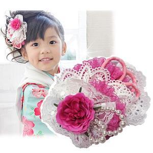 七五三 髪飾り ヘッドドレス「ミニプリンセス♪」 七五三  こども 女の子 結婚式 お祝い プレゼントに|kyotorurihinagiku