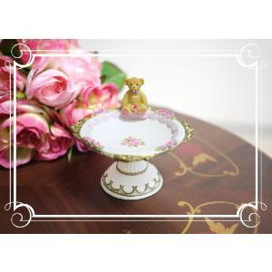 プリンセスベアーの泉 ジュエリートレー 誕生日プレゼント 出産祝い クリスマスプレゼント 御祝い ギフト プレゼント|kyotorurihinagiku