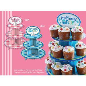 ≪新商品セール≫ カップケーキスタンド 子供 パーティ 誕生日 お誕生日会 誕生日パーティ|kyotorurihinagiku