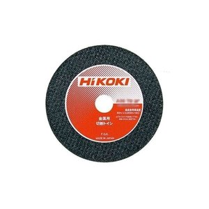HiKOKI 切断トイシ 金属用 耐久性重視 外径105×厚さ2.5×穴径15mm A36TBF 5枚入 0030−9381|kyotoyamamura