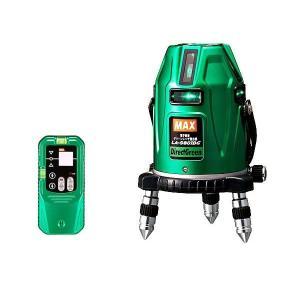 MAX レーザ墨出器 (電子整準) フルライン 受光器セット LA−S801DG−D kyotoyamamura