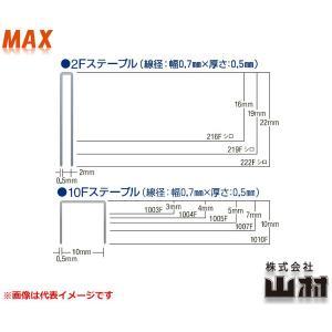 MAX F線ステープル 1004F (MS92225) 大箱(4,800本x1x100箱)|kyotoyamamura