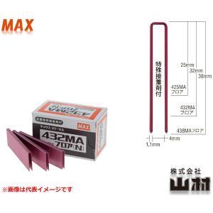 MAX 4MAフロアステープル 432MAフロア(N) JIS規格品 (MS95642) 小箱(3,000本入)|kyotoyamamura