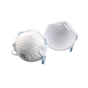 トーヨーセフティー 使い捨て式防じんマスク(2枚入) No.1709-C   ●簡単にしめひもの長さ...