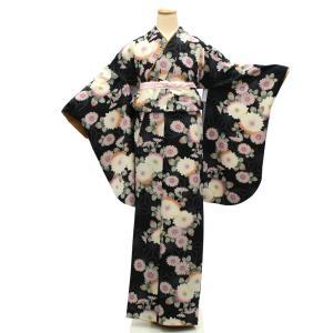 袴用きもの 二尺袖着物 中古 単品 リサイクル 格安 安い 美品 仕立て上がり 卒業式 晴れ着 着物...