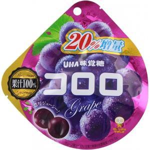 味覚糖 コロロ グレープ  UHA 20%増量|kyougenn