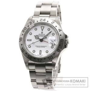 ROLEX ロレックス 16570 エクスプローラー2 腕時...