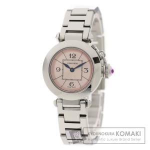 CARTIER カルティエ W3140008 ミスパシャ 腕時計 ステンレス レディース  中古