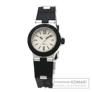 f4161ad7d372 BVLGARI ブルガリ AL29TA アルミニウム 腕時計 アルミニウム/ラバー レディース 中古