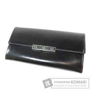 da4c2a696334 カルティエ CARTIER 金具モチーフ 長財布(小銭入れあり)レザー メンズ 中古