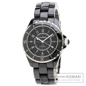 32050441e838 CHANEL シャネル H0685 J12 38 腕時計 セラミック/セラミック メンズ 中古