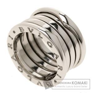 4a50de14498c BVLGARI ブルガリ B-zero1 M #51 リング・指輪K18ホワイトゴールド レディース 中古
