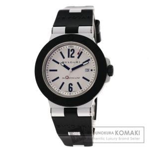 BVLGARI ブルガリ AL44TAVD アルミニウム 腕時計  アルミニウム/ラバー メンズ  ...