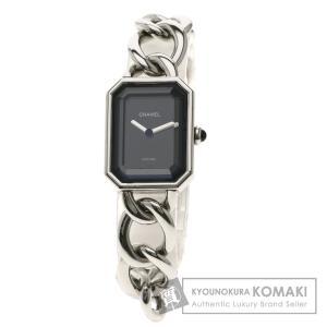 CHANEL シャネル H0452 プルミエール L 腕時計  ステンレススチール/SS レディース...