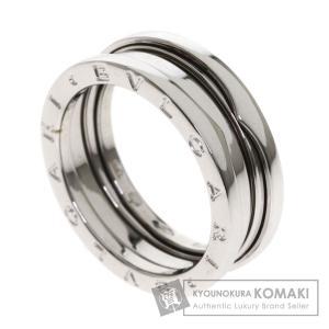 48fa6c6803fe BVLGARI ブルガリ B-zero1 S #60 リング・指輪K18ホワイトゴールド メンズ 中古