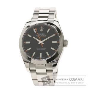 ROLEX  ロレックス 116400 ミルガウス 腕時計  ステンレススチール SS メンズ  中...