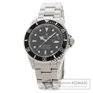 ROLEX ロレックス 16610T サブマリーナデイト 腕時計  ステンレススチール SS メンズ  中古|kyounokura