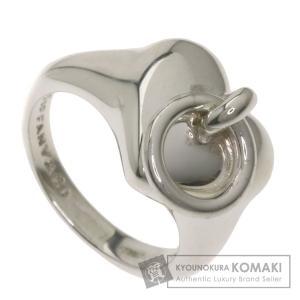 TIFFANY&Co. ティファニー ハートリング リング・指輪 シルバー レディース 中古 kyounokura