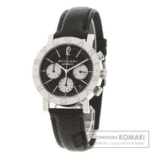 BVLGARI ブルガリ BB38SLDCH ブルガリブルガリ 腕時計  ステンレススチール 革 メンズ  中古|kyounokura