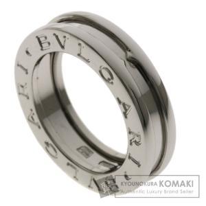 BVLGARI ブルガリ B-zero1 XS #44 リング・指輪K18ホワイトゴールド レディー...