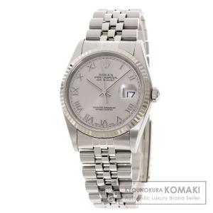 ROLEX  ロレックス 16234 デイトジャスト 腕時計  ステンレススチール SS K18 W...