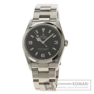 ROLEX  ロレックス 114270 エクスプローラー1 ルーレット 腕時計  ステンレススチール SS メンズ  中古|kyounokura