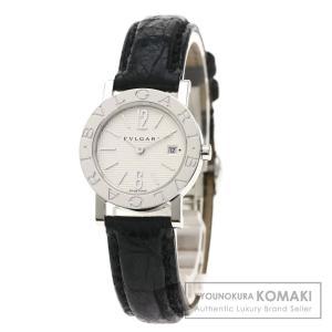 BVLGARI ブルガリ BB26SL ブルガリブルガリ 腕時計  ステンレススチール 革 レディース  中古|kyounokura