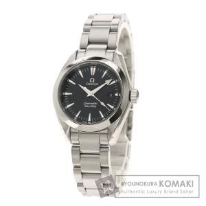 OMEGA オメガ 2577.5 シーマスター アクアテラ 腕時計  ステンレススチール SS レディース  中古|kyounokura
