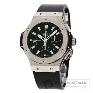 HUBLOT ウブロ 301.S .1170.R  ビッグバンエボリューション 腕時計  ステンレススチール ラバー メンズ  中古|kyounokura