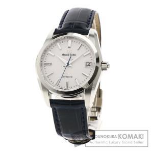 SEIKO セイコー SBGR287 グランドセイコー ヘリテージコレクション 腕時計  ステンレススチール 革 メンズ  中古|kyounokura