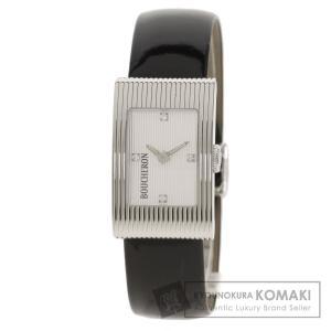 Boucheron ブシュロン WA009402 ブシュロン リフレ 4P ダイヤモンド 腕時計  ...