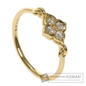 CARTIER カルティエ ヒンドゥリング 4P ダイヤモンド #51 リング・指輪 K18イエローゴールド レディース 中古 kyounokura