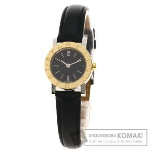 BVLGARI ブルガリ BB23SGL ブルガリブルガリ 腕時計  ステンレススチール 革 K18YG レディース  中古|kyounokura