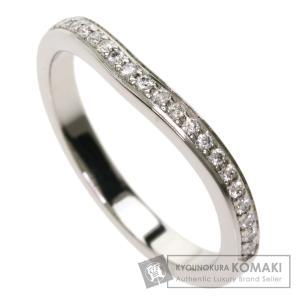 CARTIER カルティエ バレリーナカーブ ダイヤモンド #46 リング・指輪 プラチナPT950 レディース 中古 kyounokura