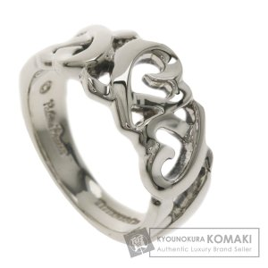 TIFFANY&Co. ティファニー ラビングハート リング・指輪 シルバー レディース 中古 kyounokura
