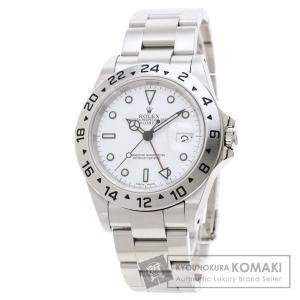 ROLEX ロレックス 16570 エクスプローラー2 腕時計  ステンレススチール SS メンズ  中古 kyounokura