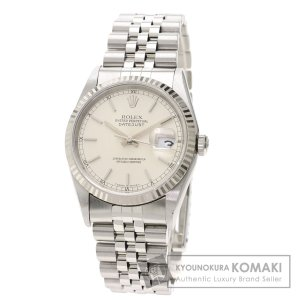 ROLEX ロレックス 16234 デイトジャスト 腕時計  ステンレススチール SS K18WG メンズ  中古 kyounokura