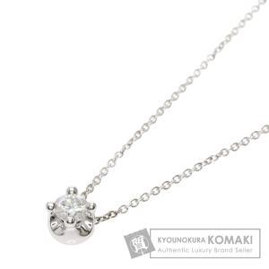 BVLGARI ブルガリ コロナ ダイヤモンド ネックレス K18ホワイトゴールド レディース 中古|kyounokura