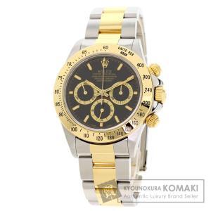 ROLEX ロレックス 16523 コスモグラフ デイトナ 腕時計  ステンレススチール SSxK18YG メンズ  中古 kyounokura